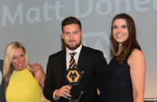 Ireland full-back makes it a clean sweep at Wolves end-of-season awards night