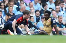 More injury woe for Danny Welbeck as Arsenal forward ruled out for 9 months