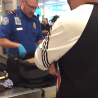 These guys played the most mortifying prank on their pal at airport security