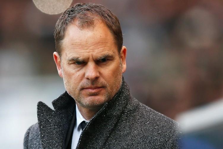Frank de Boer has stepped down as Ajax manager.