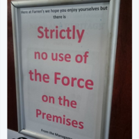 This Malin Head pub has an important message for Star Wars cast and crew