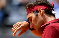 Injury could force Federer to miss Grand Slam event for the first time in 17 years