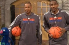 WATCH: NBA stars spend time off playing hoops on Sesame Street