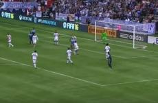 MLS striker Perez nets spectacular 88th-minute bicycle-kick winner