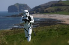 No-fly zones being implemented to facilitate Star Wars shoots