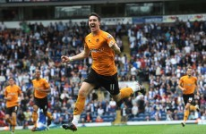 Going nowhere: Ward signs new deal with Wolves