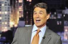 If you can't laugh at yourself... Perry goes on Letterman after debate gaffe