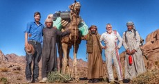 The Irishman who reached the summit of Mount Sinai after a gruelling 1500km walk