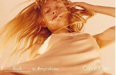 Model defends controversial 'upskirt' Calvin Klein ad