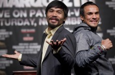 Pac-Man and Marquez get ready to rumble...