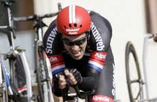Brambilla at the double as Dumoulin struggles on Giro