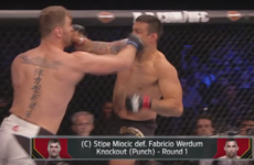Stipe Miocic is the new UFC heavyweight champion thanks to this stunning one-punch KO