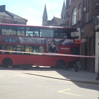 At least 20 injured after double-decker bus crashes into shop in London