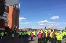 Manchester Police reveal Old Trafford bomb scare was caused by a training device