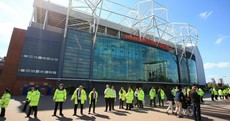 Mayor slams 'fiasco' after fake bomb left in Man Utd toilets after training drill