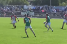 Kerry defender Peter Crowley scored a brilliant goal in a club game yesterday