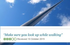 11 priceless tourist reviews of The Spire in Dublin