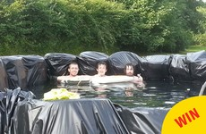 These Meath lads came up with the best way to cool off in the heatwave