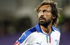 Pirlo unlikely to face Ireland at Euro 2016 as Conte leaves him out of Italy squad