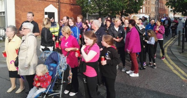 """Not prepared to remain silent"" - Dublin community procession takes place in protest against crime"