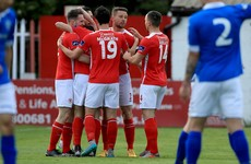 Timlin on the double as four-star Saints too strong for Harps