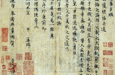 Ancient Chinese letter sells at Beijing auction for €27 million