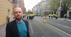 "Councillor accuses gardaí of ""assault"" at Dublin protest"
