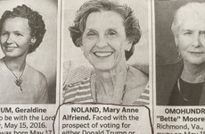 A woman used her obituary to diss both Trump and Clinton