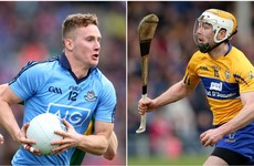 Dublin and Clare forwards claim GAA player of the month awards for April