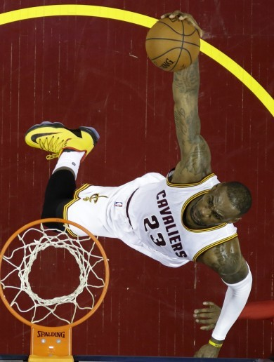 Get outta the way, Toronto! Cavs hand out record 31-point beating in Game 1