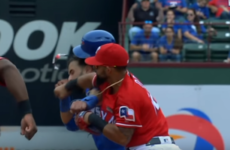 Baseball player gets 8-match ban for hitting his opponent an almighty wallop