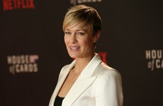 Robin Wright fought to get the same pay as Kevin Spacey on House of Cards