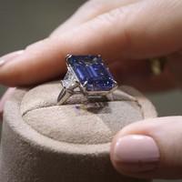 Rare 'Oppenheimer Blue' diamond sells for record-breaking $50.6 million