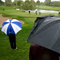 Lowry two shots back as Irish Open tees off in miserable conditions