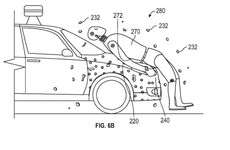 Google patents sticky car bonnets so pedestrians attach to it when hit