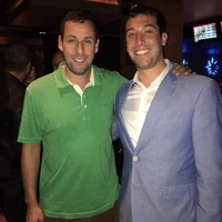 Adam Sandler found his doppelganger online and invited him to a film premiere