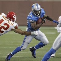 Ex-Detroit Lion slips on spikes for a run at Rio qualification after concussions