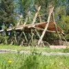 Students in Mayo built this impressive outdoor classroom