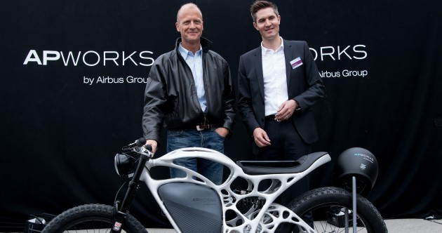 The world's first 3-D printed motorbike has taken its bow