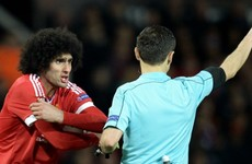 Fellaini: I am not a dirty player and have never injured anyone