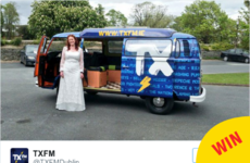 A bride needed a campervan for her wedding day, so TXFM helped out in the best way