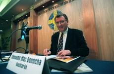Former GAA president and Galway hurling star Joe McDonagh dies