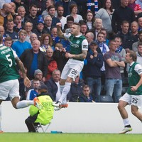 Stokes on the double as Hibs stun Rangers to win Scottish Cup