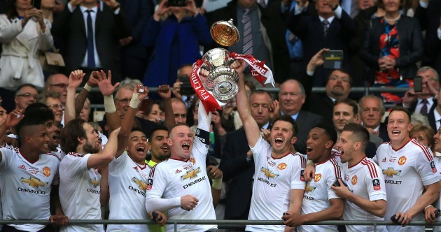 Lingard rocket brings Man United FA Cup cheer