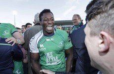Try-scoring wing Adeolokun continues to shine for Lam's Connacht