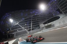 Hamilton back on track with Abu Dhabi victory