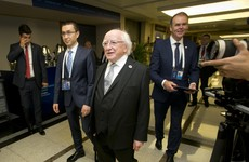 President Higgins makes powerful speech at the first-ever World Humanitarian Summit
