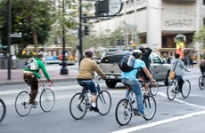Record numbers choosing cycling or public transport in Dublin city