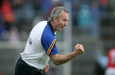 Tipperary manager Michael Ryan now has his players exactly where he wants them