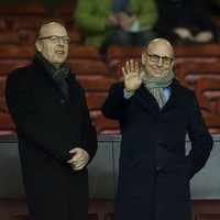 The Glazers' stake in Man United increased in value by $50m after stock exchange rise today